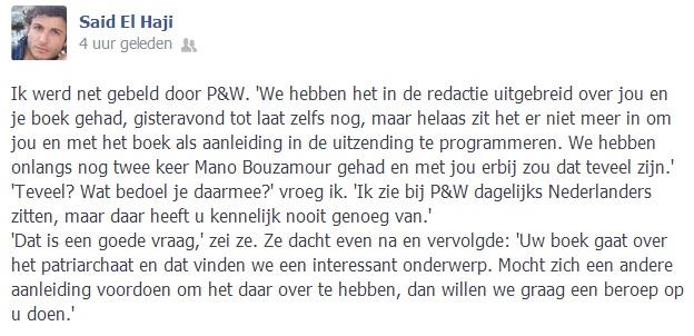 said el haji facebook
