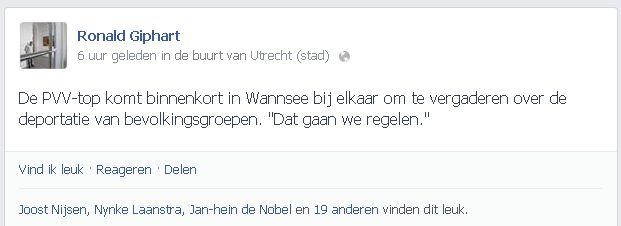Nieuws: Schrijvers vinden uitspraken Wilders walgelijk - Tzum literair ...