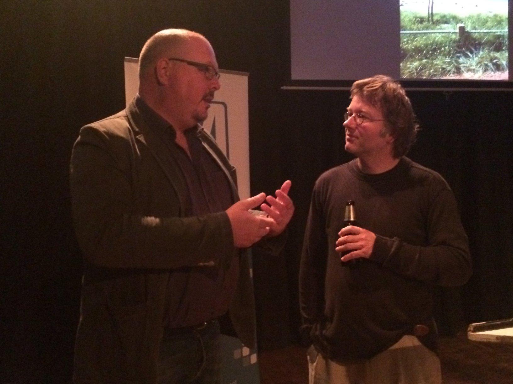 Marc van Ginsbergen en Peter van Lier