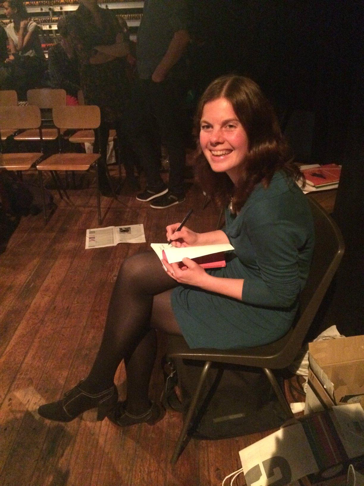 Saskia Stehouwer signeert