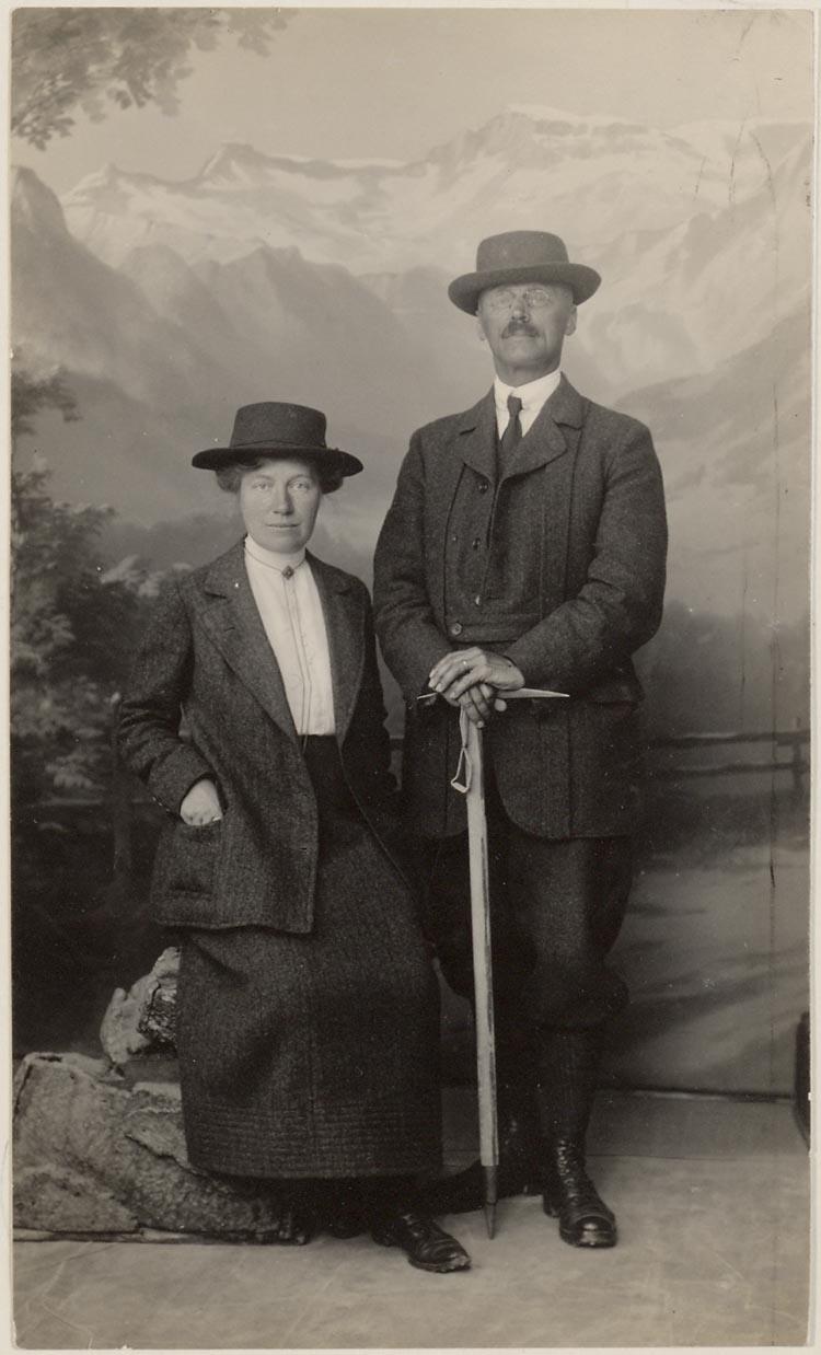 herman gorter en ada prins in 1917