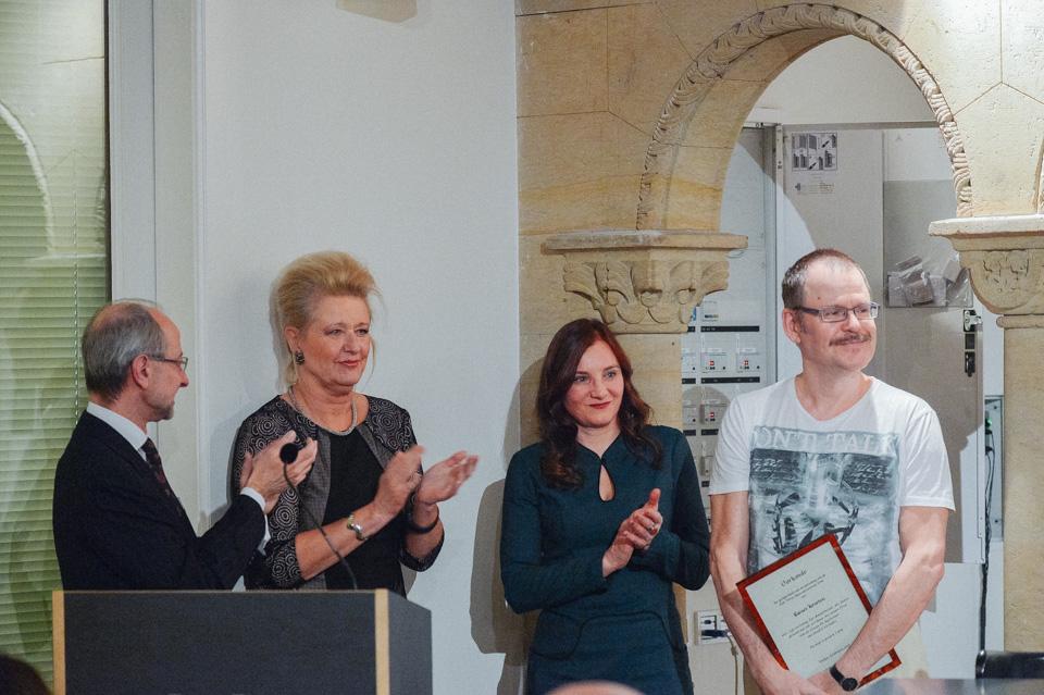 Koen Haverbeke Monique Ruhe Bettina Bach Rainer Kersten Foto Victor Schiferli
