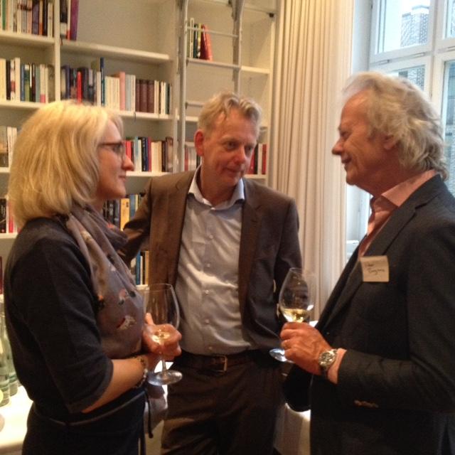 Heike Baryga, Bas Pauw en Peter Bergsma