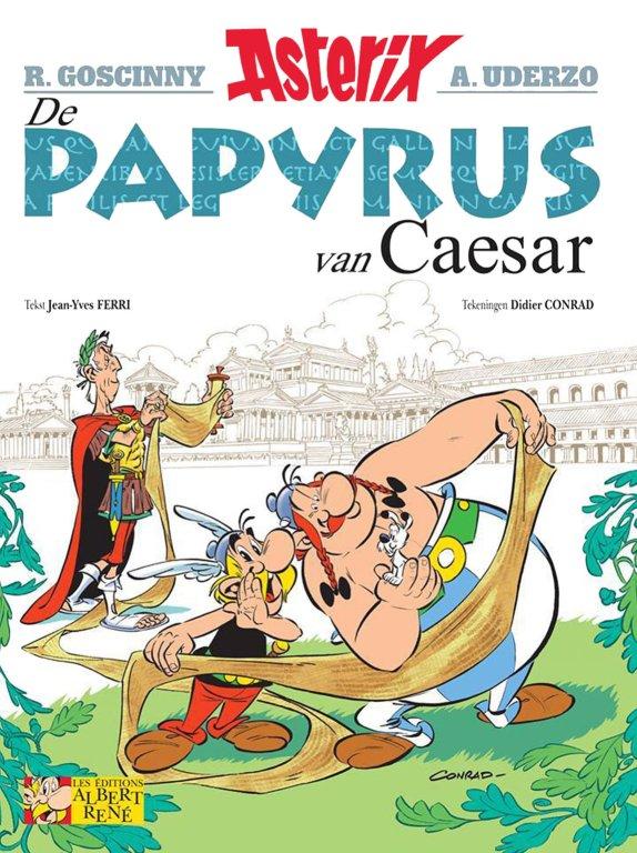 Asterix papyrus van caesar