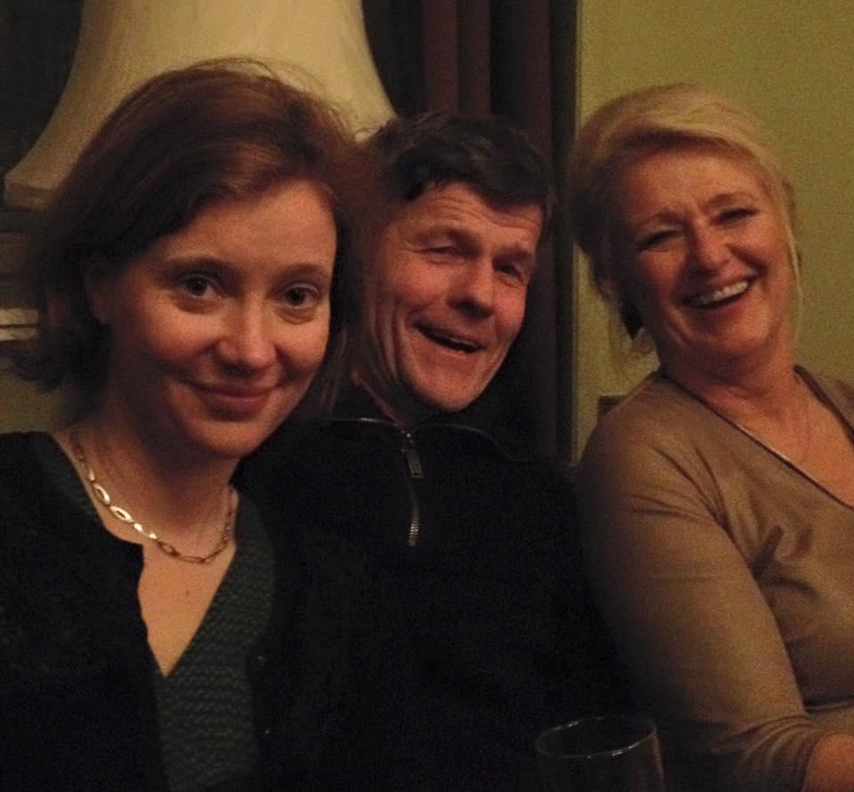 Bettina Baltschev, Mark Wildschut, vertaler Duits-Nederlands, en Monique Ruhe, ambassaderaad