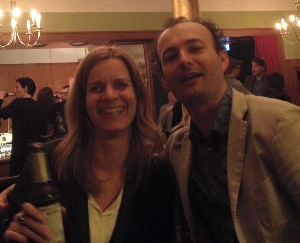 Christiane Burkhardt met Lodewijk van Oord