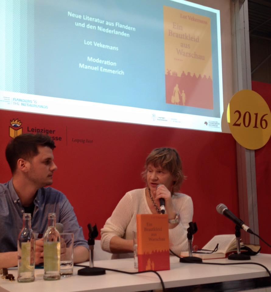 Manuel Emmerich en Lot Vekemans op het podium