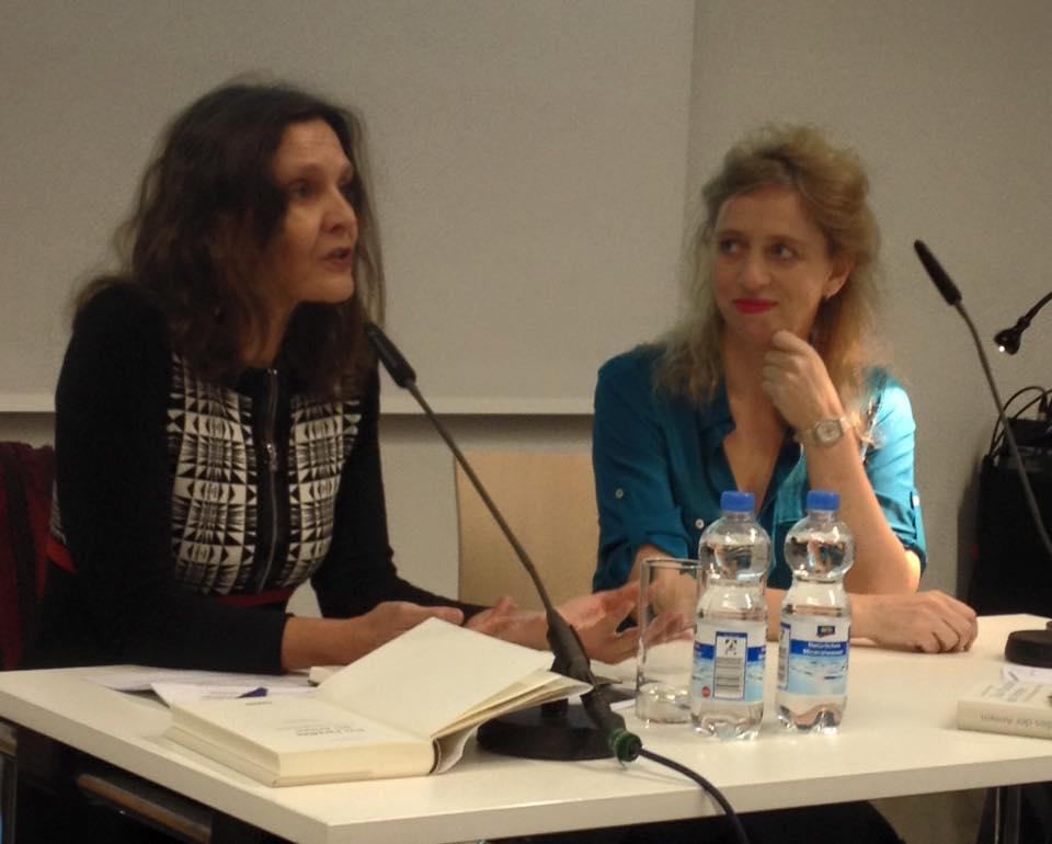 Maike Albath en Suzanna Jansen