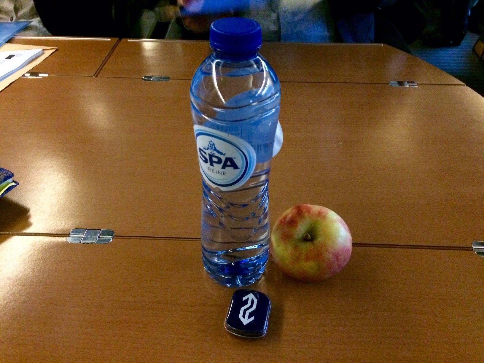 Voedselpakket van de NS